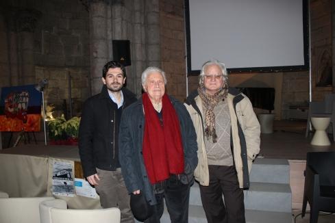 Assaggi di Realtà 2011. Da sinistra: Francesco Torre, Luigi Di Gianni e Nino Genovese
